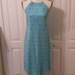 Gap Paisley halter dress
